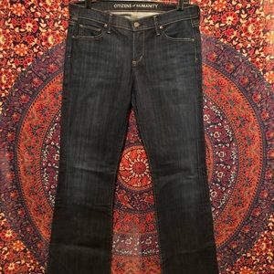 """Citizens of Humanity """"Dita"""" Petite Bootcut Jeans"""